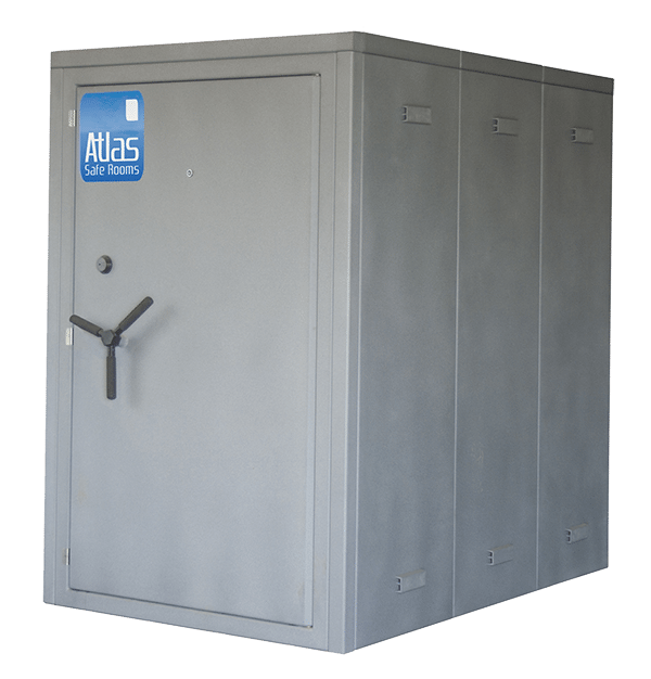 "Atlas Safe Rooms - Commander Series - 8 Person Safe Room - 4' 5"" by 6' 5"""