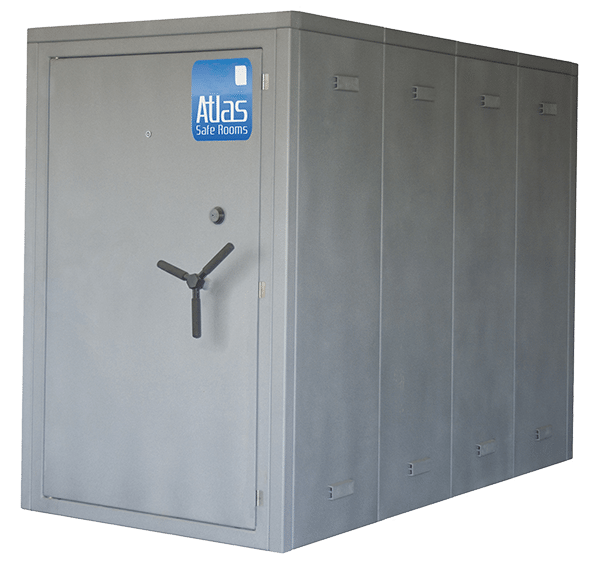 "Atlas Safe Rooms - Defender Series - 12 Person Safe Room - 4' 5"" by 8' 5"""