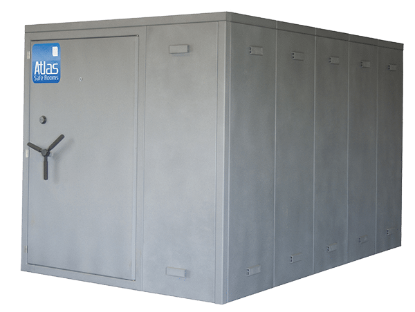 """Atlas Safe Rooms - Fortress Series - 14 Person Safe Room - 6' 5"""" by 8' 5"""""""