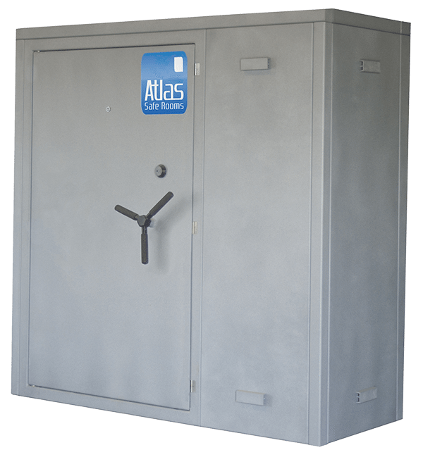 "Atlas Safe Rooms - Titan Series - 4 Person Safe Room - 6' 5"" by 2' 5"""