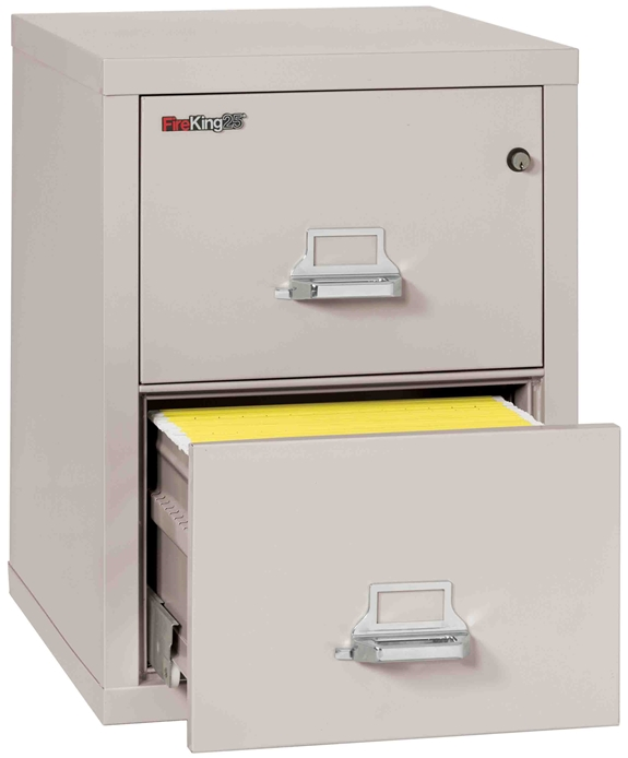 Fire King 2-1825-C - FireKing 25 File Cabinets - 2 Drawer 1 Hour Fire Rating