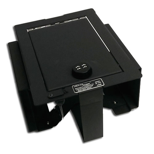 Lock'er Down Console Safe 2009 - 2012 Ford F150 w/ Full Floor Console (Will fit RAPTOR PLATINUM)