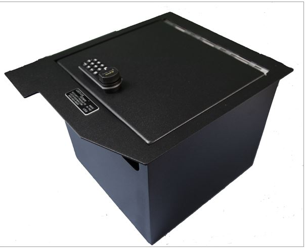 Lock'er Down XL Console Safe 2007-2013 Toyota Tundra/2008-2016 Toyota Sequoia
