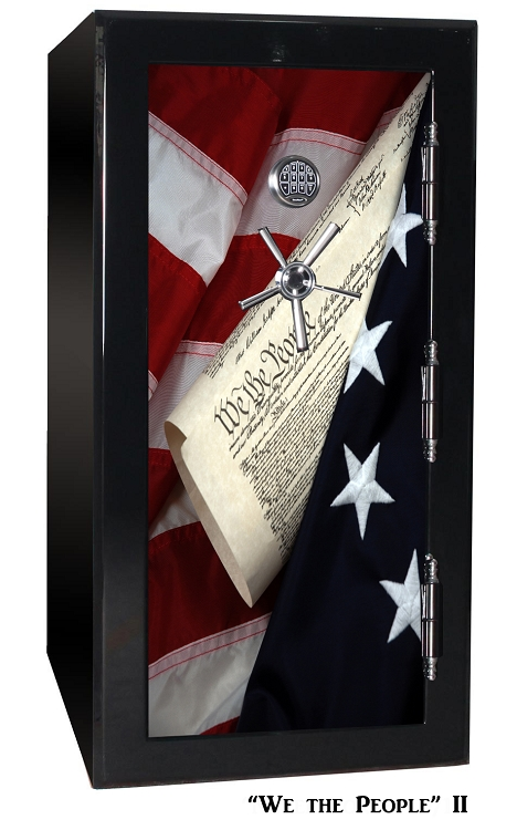 Old Glory Tactical GunSafe - We The People 2 - 24 Gun Capacity - 2 Hour Rating