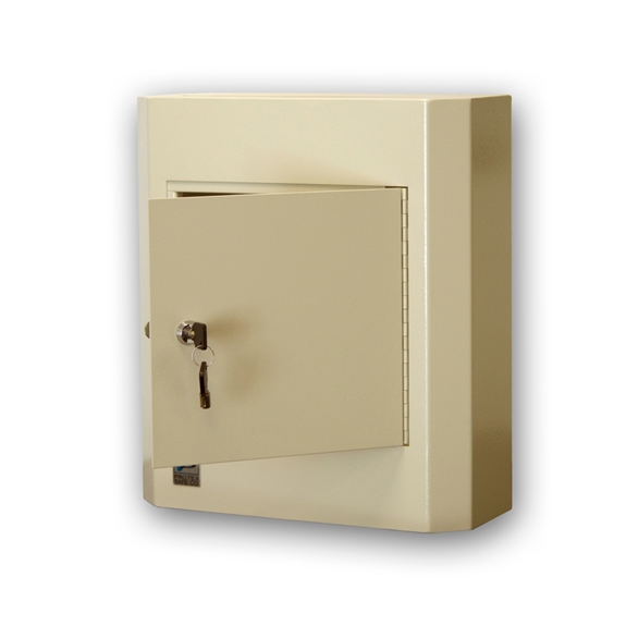 Protex SDL-400K Wall Mounted Drop Box With Key Lock