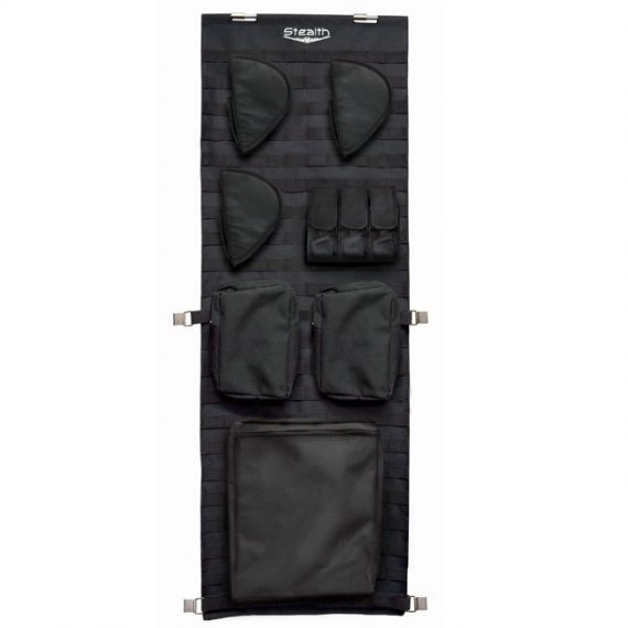 Stealth Tactical Door Panel Organizer Molle Webbing – Small