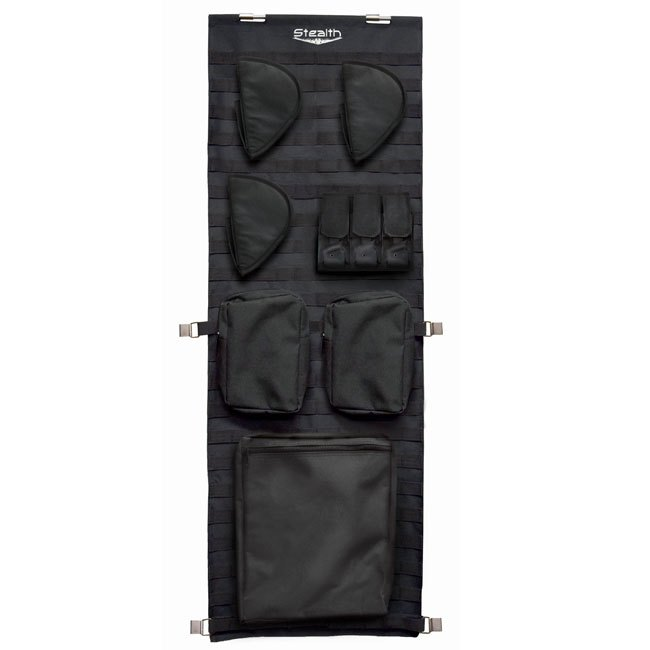 Stealth Tactical Door Panel Organizer Molle Webbing - Small
