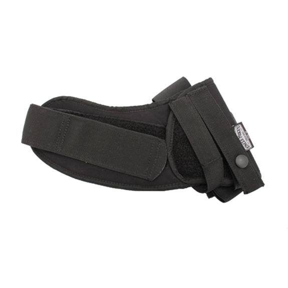 Uncle Mikes Kodra Ankle Holster, Black - Ankle Holster Kodra Blk Sz 12 LH Strap CP