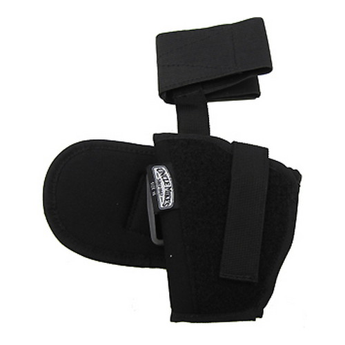 "Uncle Mikes Kodra Ankle Holster, Black - Kodra LH Md/Lg Auto 3.25-3.75""Bbl"