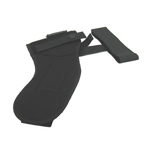 "Uncle Mikes Sidekick Ankle Holster Cordura Nylon Black - Kodra RH Small Frm Rev 5rd 2"" Bbl"