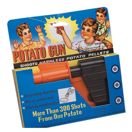 "6"" POTATO GUN, Case of 144"