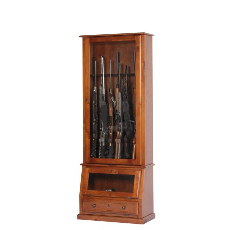 American Furniture Classics Rifle, Shotgun and Pistol Cabinet