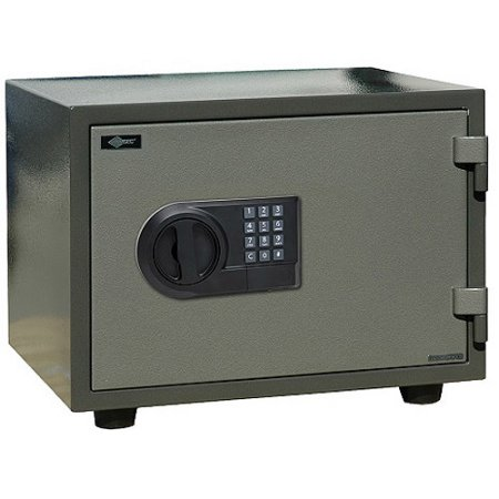 American Security 0.64 cu. ft. E-Lock Fire Safe with Digital Electronic Keypad, FS914E5L Two-Toned Sage