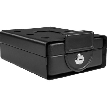 Barska Compact Key Lock Safe with Mounting Sleeve