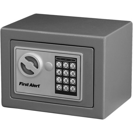 First Alert Digital Safe, Grey