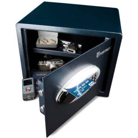 Fortress Heritage 1.1 cu. ft. Alarming Home Security Safe with Electornic and Card Access Lock, FSH110ES