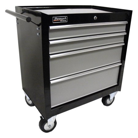 Homak SE Series 4 Drawer Rolling Cabinet