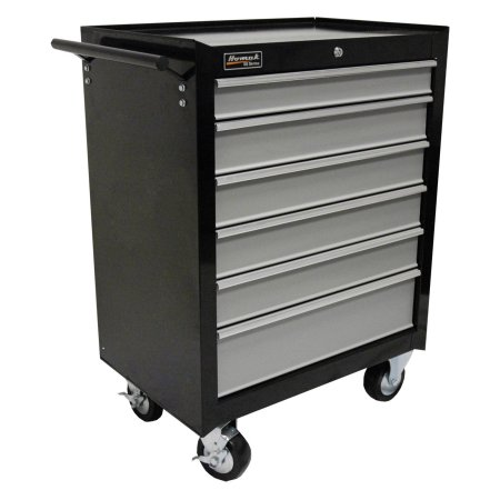 Homak SE Series 6 Drawer Rolling Cabinet