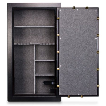 Mesa Safe 30-Gun MBF60302C Fire Resistant Safe with Mechanical Dial Lock, Black