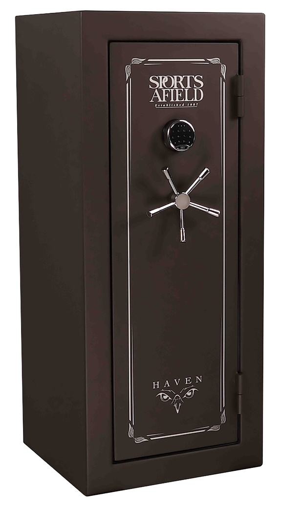 Sports Afield - SA5925H - Haven Series - 24+4 Gun Capacity - Water and Fire Resistant Safe