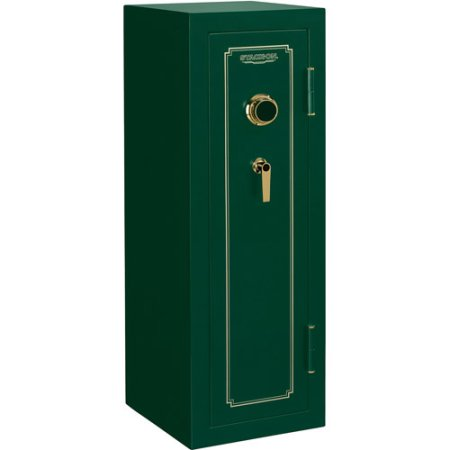 Stack-On 14 Gun Fire Resistant Security Safe with Combination Lock FS-14-MG-C Hunter Green