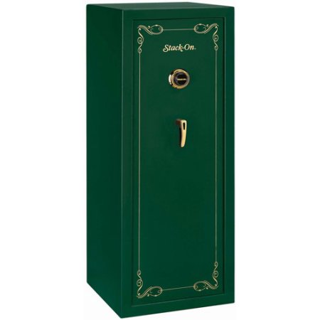 Stack-On 16 Long Gun Fully Convertible Security Safe with Combination Lock (Hunter Green)