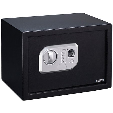 Stack-On Biometric Personal Safe with Biometric Lock PS-10-B Black