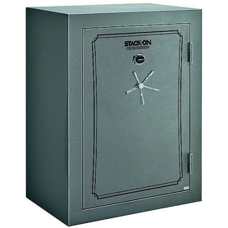 Stack-On Fire and Waterproof 54-Gun Total Defense Safe with Combination Lock, TD14-54-GP-C-S