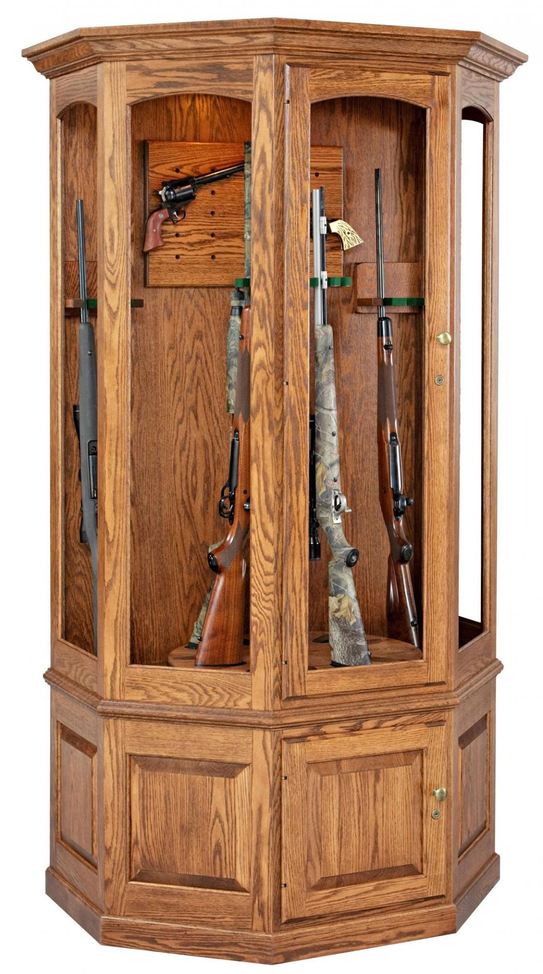 Amish-Gun-Cabinet-with-12-Gun
